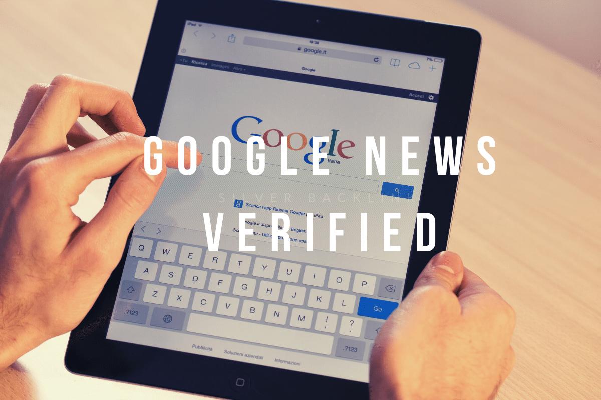 Google News Verified - Silver Backlink